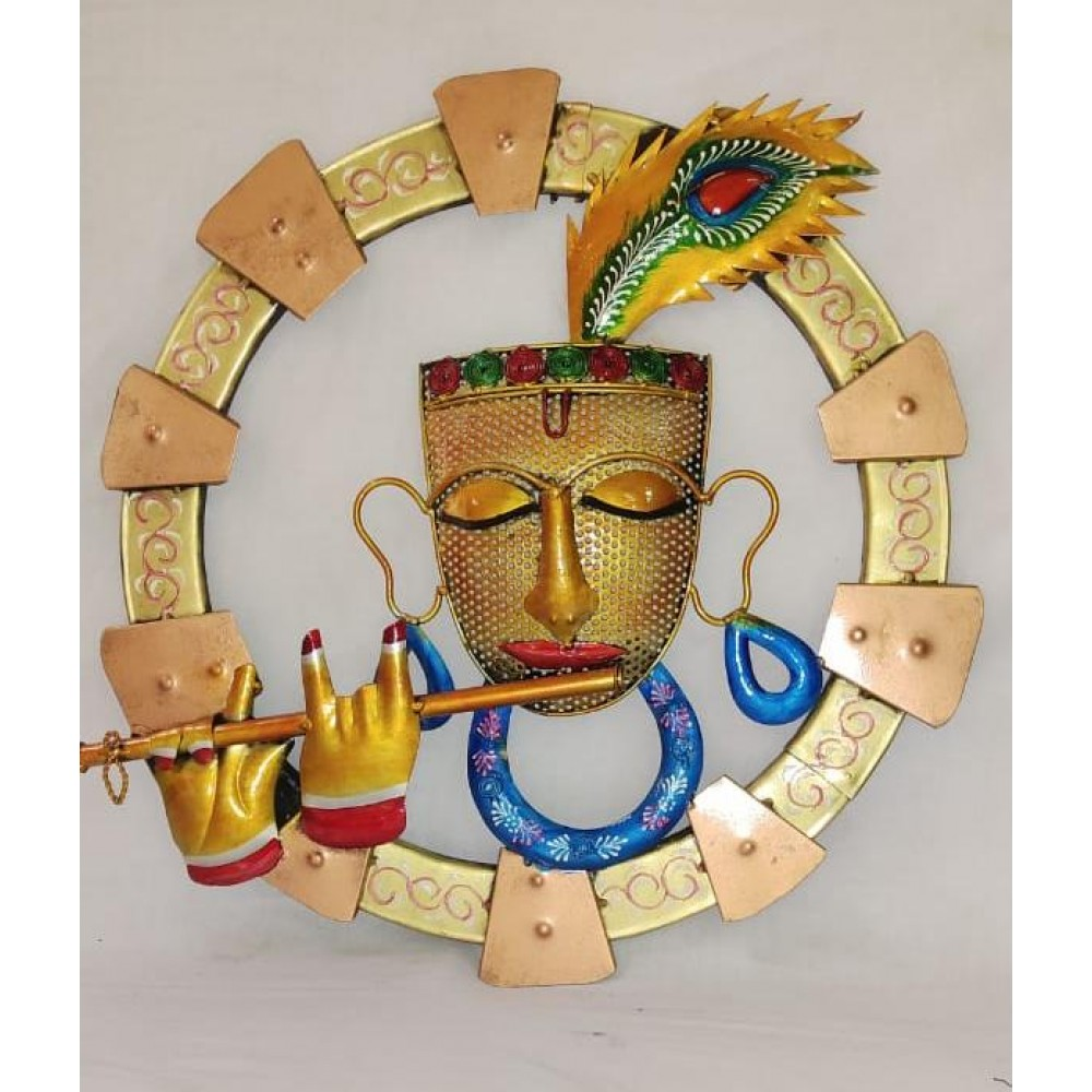 Krishna Wall Hanging With Led Light