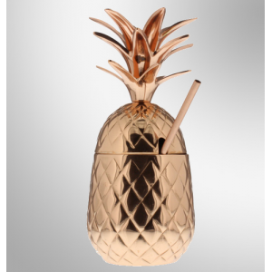 Copper Pineapple Vase