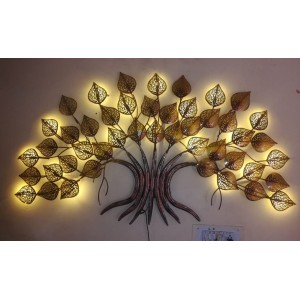Metal Tree Wall art  with Led Lights