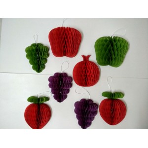 Paper Craft  Fruit And Vegetable
