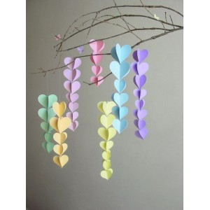 PAPER STRING GARLANDS