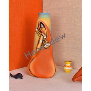 Handmade Terracotta Flower vase