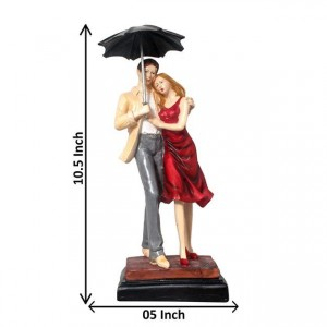 Love Couple Showpiece, Multicolor, Polyresin