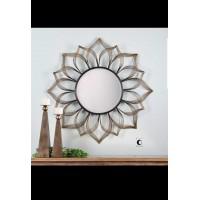 Antique Design Metal Wall Mirror
