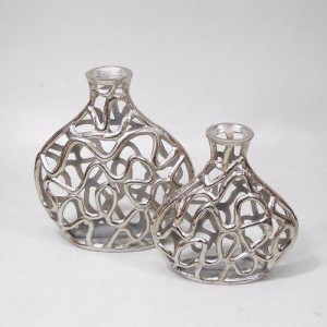 Decorative Aluminium Flower Vases