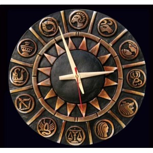 Terracotta Wall Clocks