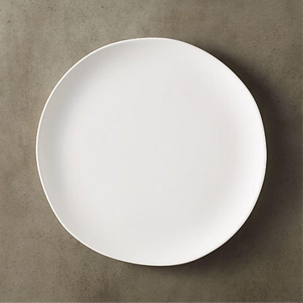 White Ceramic Dinner Plates