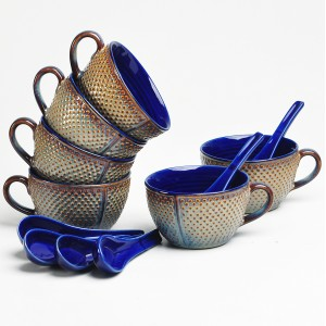 Soup Bowl Set With Spoon