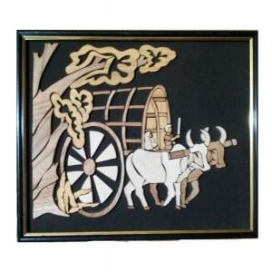 Teracotta Bullock Cart