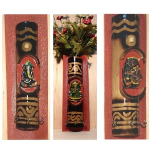 Terracotta pen stand
