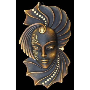 Terracotta Mask Wall Hangings