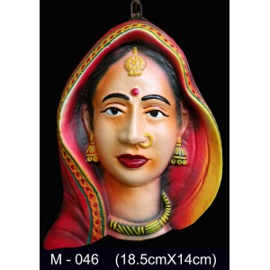 Rajisthani Female Mask