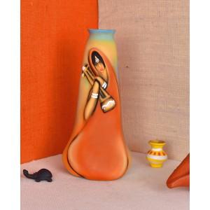 MeeraBai Terracotta vase