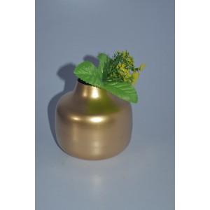 Metal Vase Round shape